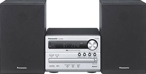 Panasonic SC-PM02 Micro System silber 2x 5 Watt RMS, Bassreflex, CD-RW, MP3, (Article no. 90393956) - Picture #5