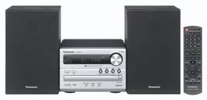 Panasonic SC-PM02 Micro System silber 2x 5 Watt RMS, Bassreflex, CD-RW, MP3, (Article no. 90393956) - Picture #2