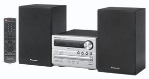 Panasonic SC-PM02 Micro System silber 2x 5 Watt RMS, Bassreflex, CD-RW, MP3, (Article no. 90393956) - Picture #3