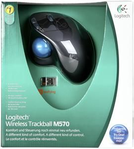Logitech Wireless Trackball M570 schwarz (Article no. 90394304) - Picture #2