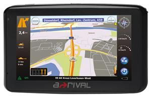 a-rival NAV-PNF 43 Europa 10.9cm Touchscreen, SiRF Atlas IV, GPS, (Article no. 90394559) - Picture #1