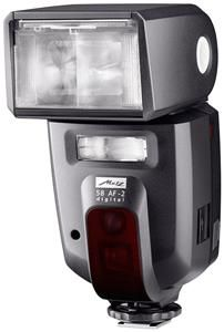 Metz mecablitz 58 AF-2OP Hotshoe-mounted flash unit  for Olympus cameras