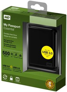 WD My Passport Essential 500GB schwarz (Article no. 90399873) - Picture #4