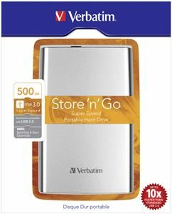 Verbatim Store ´n´ Go 500GB silber (Article no. 90400021) - Picture #4