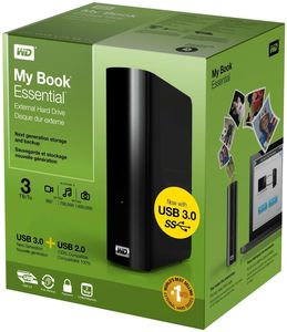 WD My Book Essential 3TB schwarz EOL (Article no. 90400049) - Picture #5