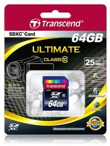 Transcend Ultimate SDXC Card 64GB MLC (Article no. 90400272) - Picture #2