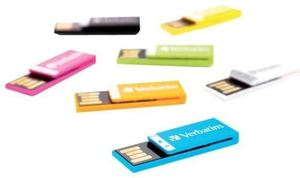 Verbatim Clip-it 2GB blau USB2.0 (Article no. 90400572) - Picture #1