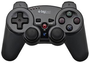 bigben PS3 Controller Bluetooth schwarz mit Akku und USB Ladekabel (Article no. 90401511) - Picture #1