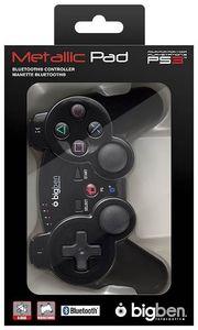bigben PS3 Controller Bluetooth schwarz mit Akku und USB Ladekabel (Article no. 90401511) - Picture #2