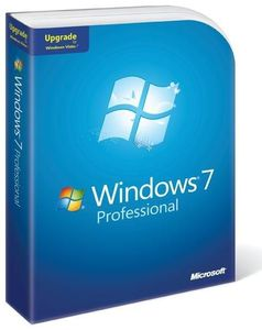 Microsoft Windows 7 Professional Upgrade 32/64bit + Support, (Article no. 90404768) - Picture #1