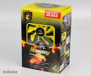 Akasa Venom schwarz/gelb (item no. 90406122) - Picture #2