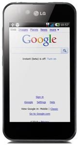 LG Optimus P970 schwarz Android 10.2cm, 800x480 Touchscreen, ARM Cortex (Article no. 90406958) - Picture #5