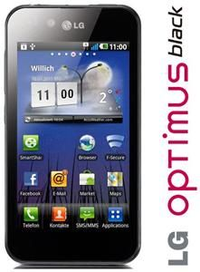 LG Optimus P970 schwarz Android 10.2cm, 800x480 Touchscreen, ARM Cortex (Article no. 90406958) - Picture #3