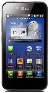 LG Optimus P970 schwarz Android 10.2cm, 800x480 Touchscreen, ARM Cortex (Article no. 90406958) - Picture #4