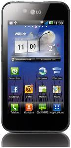 LG Optimus P970 schwarz Android 10.2cm, 800x480 Touchscreen, ARM Cortex (Article no. 90406958) - Picture #1