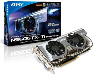 MSi N560GTX-Ti Twin Frozr II/OC (Article no. 90407063) - Picture #3