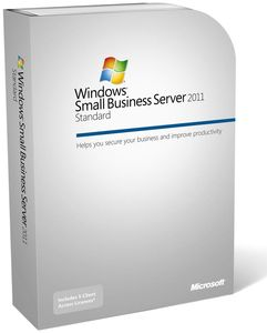 Microsoft Windows Small Business Server 2011 Standard DE 1-4 CPU/64bit/+5Cal´s (Article no. 90407530) - Picture #1