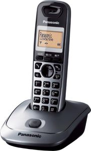 Panasonic KX-TG2511GM graphit Eco DECT/GAP, CLIP, Telefonbuch, (Article no. 90407985) - Picture #2