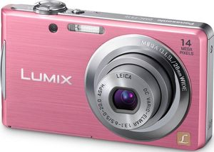 Panasonic Lumix DMC-FS16EG-P pink (item no. 90408015) - Picture #1