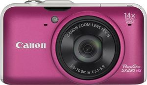 Canon PowerShot SX230 HS pink (item no. 90408203) - Picture #5