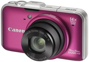 Canon PowerShot SX230 HS pink (Article no. 90408203) - Picture #3