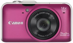 Canon PowerShot SX230 HS pink (Article no. 90408203) - Picture #1