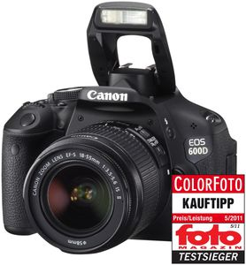 Canon EOS 600D Kit + EF-S 18-55mm IS II (item no. 90408365) - Picture #5