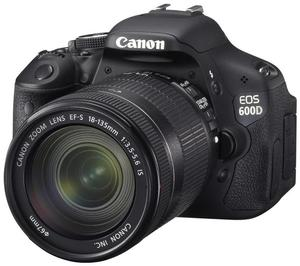 Canon EOS 600D Kit + EF-S 18-135mm (Article no. 90408368) - Picture #4