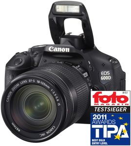 Canon EOS 600D Kit + EF-S 18-135mm (Article no. 90408368) - Picture #5