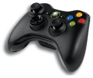 Microsoft Wireless Controller schwarz inkl. Wireless PC Adapter, (Article no. 90408685) - Picture #1