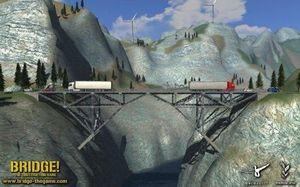 Bridge! - Brückenbausimulator Deutsche Version (Article no. 90408915) - Picture #2