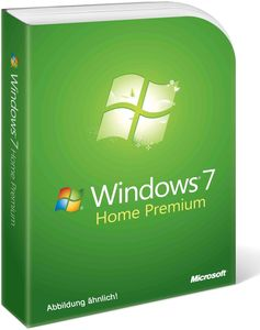 Microsoft Windows 7 Home Premium 64bit SP1 DE OEM (Art.-Nr. 90409407) - Bild #1