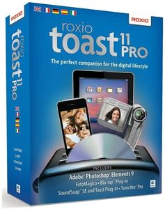 Roxio Toast 11.0 Titanium Pro Multilingual, Mac (Article no. 90410317) - Picture #1