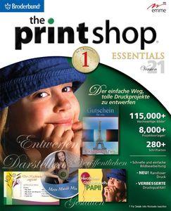 PrintShop 21 Essentials (DVD) (Article no. 90411427) - Picture #1