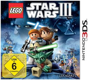Lego Star Wars III: The Clone Wars Nintendo 3DS (Article no. 90412879) - Picture #1