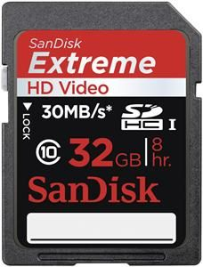 SanDisk Extreme SDHC UHS-I Karte SDSDX-032G-X46 32GB (Article no. 90413143) - Picture #1