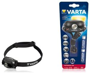 Varta 1 Watt LED Sports Head Light 2AAA Kopflampe, 1 Watt LED-Licht, (Article no. 90413340) - Picture #2
