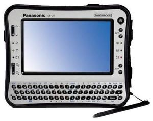 Panasonic Toughbook CF-U1 W7P (item no. 90415448) - Picture #2