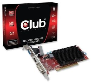 Club3D Radeon HD5450 PCI Edition (Article no. 90415639) - Picture #3