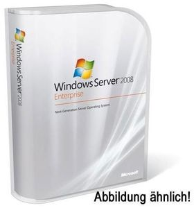 Microsoft Windows Server 2008 Enterprise R2 DE SP1 64bit DVD 1 Server (1-8 CPU) +25CAL OEM (Article no. 90416313) - Picture #1