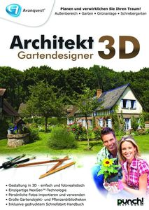 Architekt 3D Gartendesigner Deutsche Version (Article no. 90416714) - Picture #1