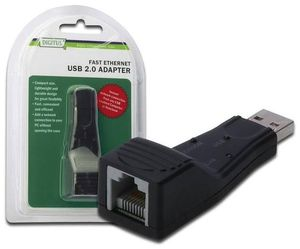 Digitus Fast Ethernet USB 2.0 Adapter 1x USB2.0 zu 1x LAN (Article no. 90417041) - Picture #2