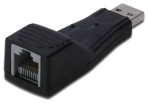 Digitus Fast Ethernet USB 2.0 Adapter 1x USB2.0 zu 1x LAN (Article no. 90417041) - Picture #1