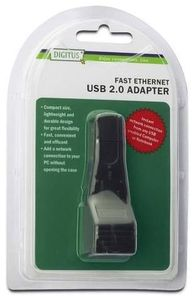 Digitus Fast Ethernet USB 2.0 Adapter 1x USB2.0 zu 1x LAN (Article no. 90417041) - Picture #3