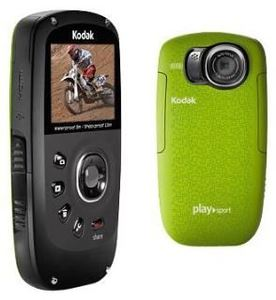 Kodak Zx5 PlaySport green 5 Megapixel, 4x Digitalzoom, 5.1cm (Article no. 90417210) - Picture #3