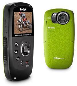 Kodak Zx5 PlaySport green 5 Megapixel, 4x Digitalzoom, 5.1cm (Article no. 90417210) - Picture #1