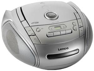 Lenco SCR-94 silber CD-RW, CD-Player, (Article no. 90417342) - Picture #1