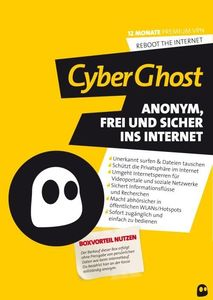 CyberGhost VPN Premium (12 Monate) (Article no. 90417913) - Picture #1