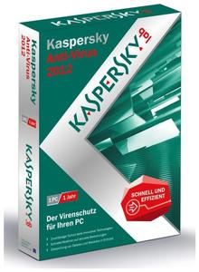Kaspersky Anti-Virus 2012 Windows, Deutsch, Mini-Box (Article no. 90418166) - Picture #1