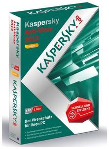 Kaspersky Anti-Virus 2012 Update Windows, Deutsch, DVD-Case (Article no. 90418167) - Picture #1